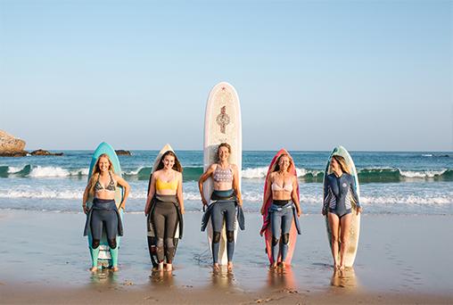 Surf & yoga Retreat Portugal for Women